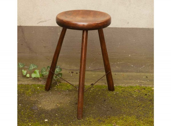 Wired Beechwood Stool