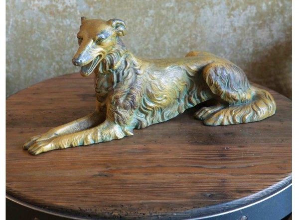 Dog Figurine Elegant