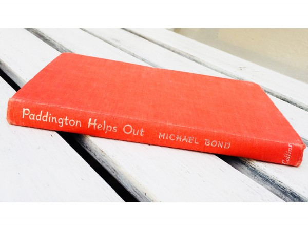 First Edition Paddington Helps Out Book by Michael Bond