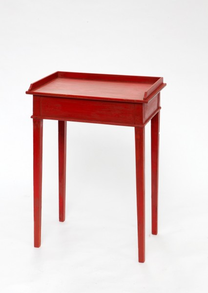 Small Red Table