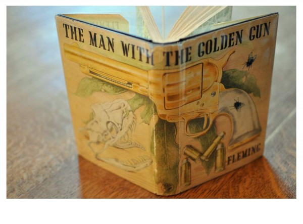 The Man With The Golden Gun Ian Fleming 1965 First Edition