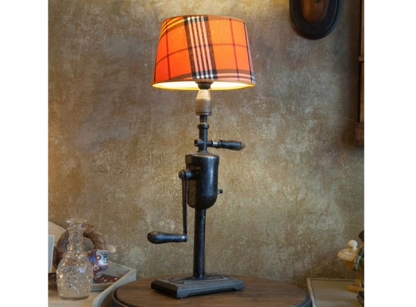 Desk Lamp Tartan Antique