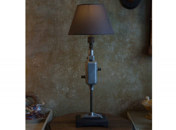 Industrial Style Lamp Grey