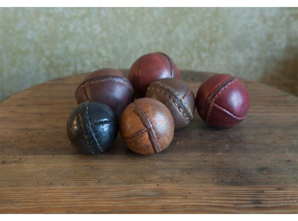 Leather Cricket Croquet Balls