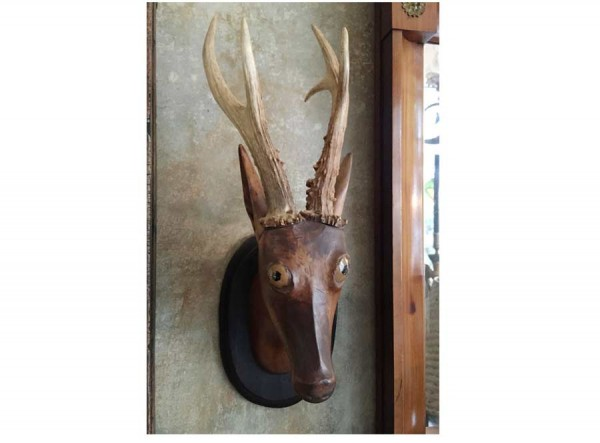 Rudi The Wooden Stag