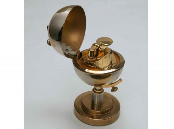 Art Deco Globe Cigarette Lighter