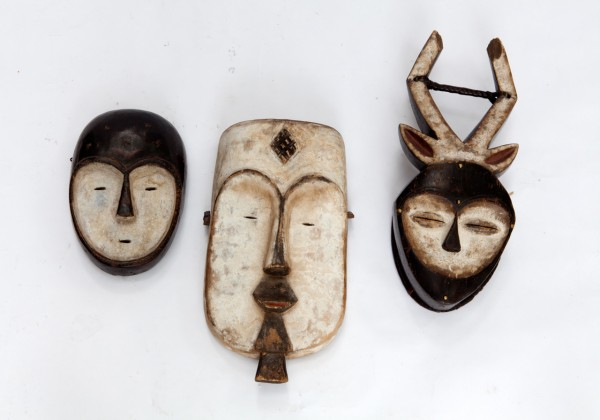 Tribal Mask Congo Antique