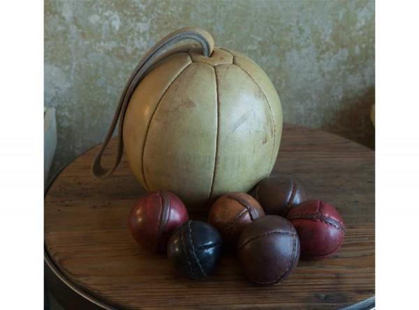 Handmade Leather Medicine Ball