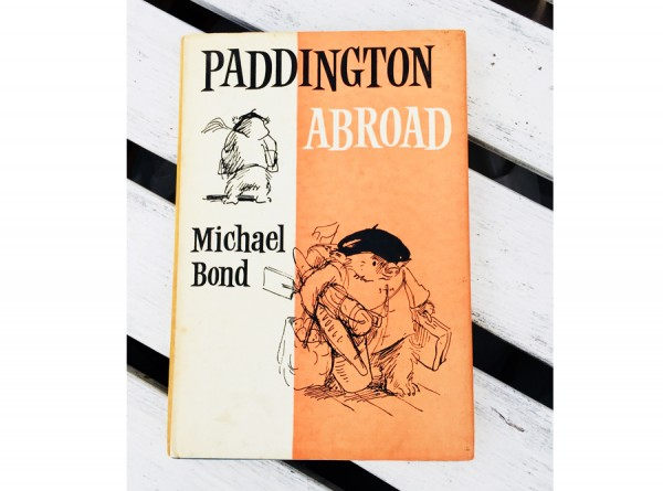 Paddington Abroad Book by Michael Bond - Second Edition